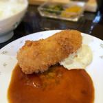 洋食屋グリルCoCCo - 海老クリームコロッケ 180円