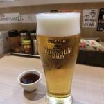 56025948 - プレモル190円、サービスのプーアル茶