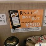 ガガナ ラーメン - 食べロガーには、これ以上ないサービス(*´ω`*)