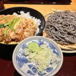 56027508 - 蕎麦とカツ丼のセット(2016.09)