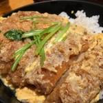 56027515 - 蕎麦とカツ丼のセット(2016.09)
