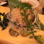 魚盛 - 鮑のお刺身