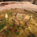 魚盛 - 魚盛ラーメン(あさり塩バターラーメン)