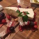 チキンカントリー - チーズケーキ