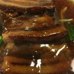 金縁 - 豚角煮。凄いボリューム!
