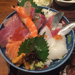 漁師料理 みき - みき丼1500円