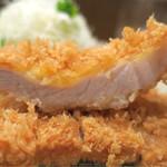 56032612 - 201609 「芋豚とんかつ定食ランチサイズ」(1000円)