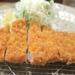 56032615 - 201609 「芋豚とんかつ定食ランチサイズ」(1000円)