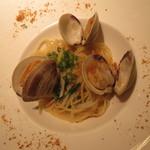 56032638 - からすみとホンビノス貝のスパゲッティーニ