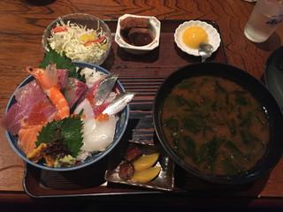 漁師料理 みき 国分寺店 - みき丼 1500円