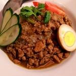 台湾料理故宮 - 魯肉飯のアップ