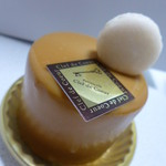 パティスリー クレ ド クール - キャラメルのケーキ