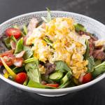 遊鳥 - 料理写真:ホーレン草のスーパーサラダ