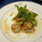 洋食 キムラ - 帆立のバターソテー