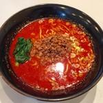 札幌担々 旨なり - 赤激辛担々麺、800円です。