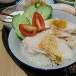 Rice people,Nice people! - 海南チキンライス。