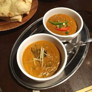 パパスバル - カレー。キーマと野菜