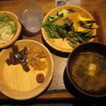 都野菜 賀茂 - とりあえずこれで席に戻り・・