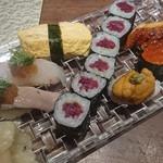寿司ひでぞう - 最後はお寿司でフィニッシュ