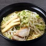 北海道夢丸やラーメン - しょうゆ野菜ラーメン