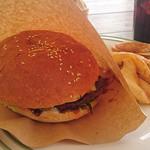Miele - めっちゃ大きかったハンバーガー