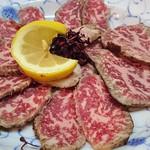 俵 - お肉のタタキ これがなかなか美味しい~☆