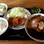 いちむら食堂  - 料理写真:ラーメン定食(830円)