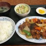 56039776 - 酢ブタ定食=780円