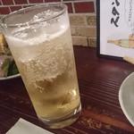スタンドあじと - お酒がすすみハイボールおかわり~☆