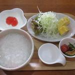 玉かふぇ - モーニングD(おかゆ)