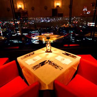 ~星空に限りなく近いレストラン~カップルシート5組限定