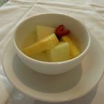 箱根ハイランドホテル ラ・フォーレ - いろいろな果物のコンポート