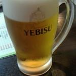とりとん - 生ビール