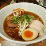 UMAMI SOUP Noodles 虹ソラ - 冷やしラーメン(2016年9月12日)