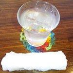 GOOD FOOD - 水と、おしぼり