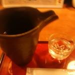 炙りやどんどん一 - 【2016.9.13(火)】冷酒(赤城山・1合・群馬県大間々町)550円