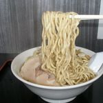 自家製太麺 渡辺 - 麺