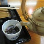 駕籠町 藪そば - 自然体の蕎麦湯