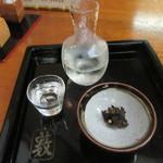 56051918 - 冷酒「Butterfly Effect」・練り味噌