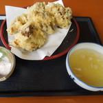 お食事処 はくさい - 舞茸の天ぷら