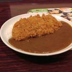 ガスト - 料理写真:豚カツカレー~☆