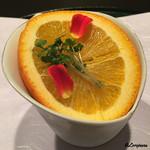 お料理 七草 - オレンヂで覆われた小鉢