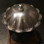 お料理 七草 - 立派な錫製の小鍋立