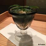 お料理 七草 - 蓴菜と海老団子