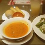 56053952 - イセエビ(風)スープ