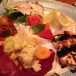 イル バッティクオーレ - 前菜盛合せ
