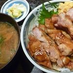 にんぎょう町 谷崎 - きじ焼き丼 税込1000円