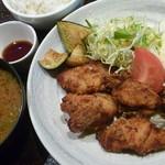 にんぎょう町 谷崎 - 鶏の塩麹唐揚げ 税込1000円