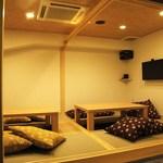Sushi&Bar 琴 - 接待やグループでゆったりくつろげる掘りごたつの個室×2もご用意しております。(最大12席)