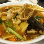 中村屋 - 五目麺を四川風にしてもらいました!美味しい!!